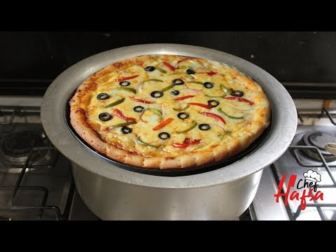 Best Pizza recipe Without Oven   No Oven Cheese Veg Pizza   Pizza