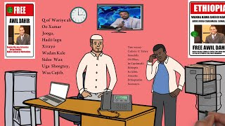 Daawo Wariye U Xiran Ethiopia Magaalada Muqdisho.