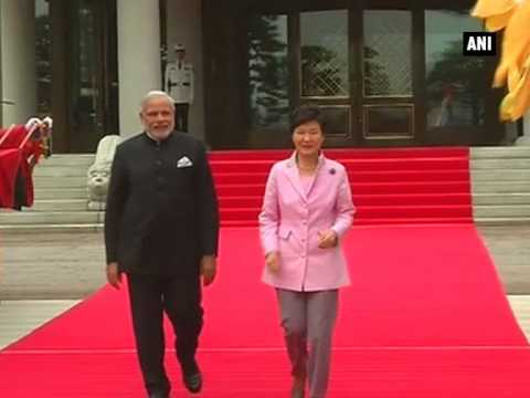 India and South Korea hold delegation level talks