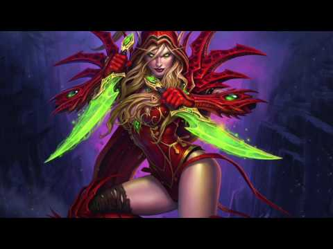 Heroes of the Storm - Valeera Login Theme / January 24