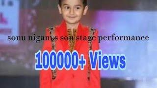 download lagu Sonu Nigam Son Nevaan Nigam Stage Performance gratis