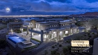 16 Soaring Bird Court, a Luxury Home in The Ridges in Las Vegas