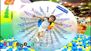 KIDZOONA!!! | Ball Pits and Slides | Indoor Playground Family Fun for Kids