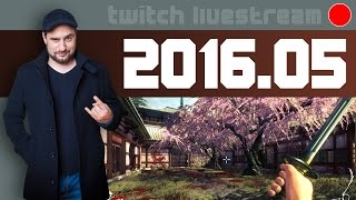 Livestream 2016 #05 - Shadow Warrior, Rollers of the Realm