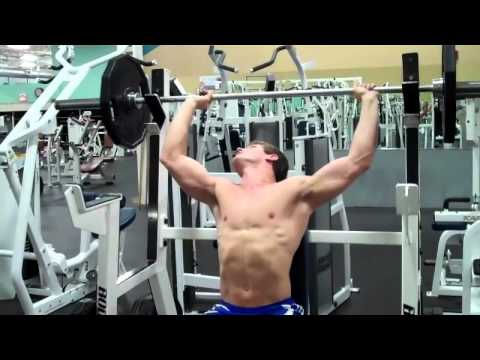 How To: Seated Barbell Shoulder Press Image 1
