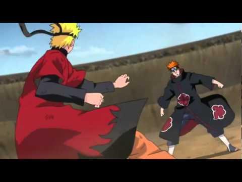 Naruto ปะทะกับ pain หกวีถี นารูโตะ!!! HD