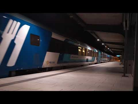 Hungária EC indul Hamburg hbf.-ról Altonára