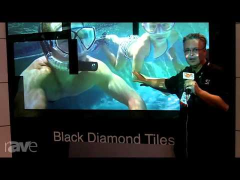 InfoComm 2013: Screen Innovations Specifies Black Diamond Tile Technology