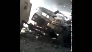 Украинский штурмовик Су-25 разбомбил собственную воинскую часть