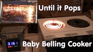 Until it Pops - Baby Belling Cooker