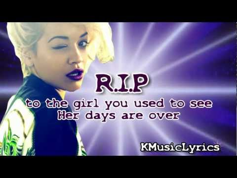 Rita Ora - R.i.p. (official Lyrics Video) video