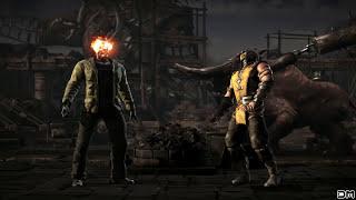 Mortal Kombat X Jason Performs All Character Fatalities