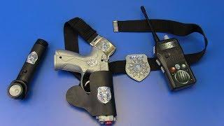 Gun Toys For Kids ! Box of Toys Police Guns & Equipment Toys for Kids