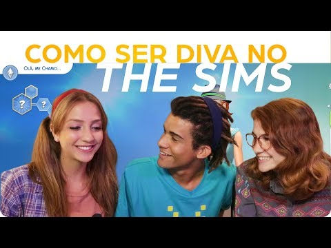 ENTREI NO THE SIMS ~ feat NIK E RAMONA TMJ