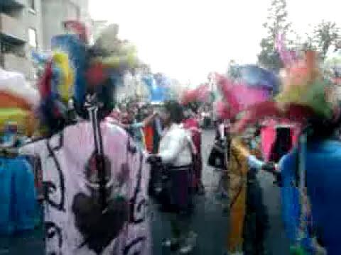 cuadrilla org.illescas y amigos del barrio de xonaca
