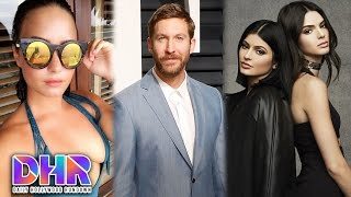 Calvin Harris Flirts With Demi Lovato - Kendall & Kylie Embrassed By Caitlyn