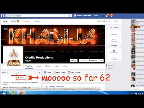 how to get 10,000 + more real likes on facebook fan page 2015 khadija productions