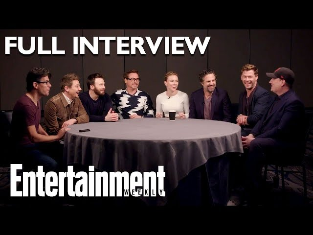39Avengers Endgame39 Cast Full Roundtable Interview On Stan Lee amp More  Entertainment Weekly