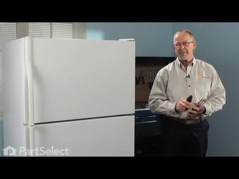 Refrigerator Repair- Replacing the Icemaker (Whirlpool Part# 4317943)