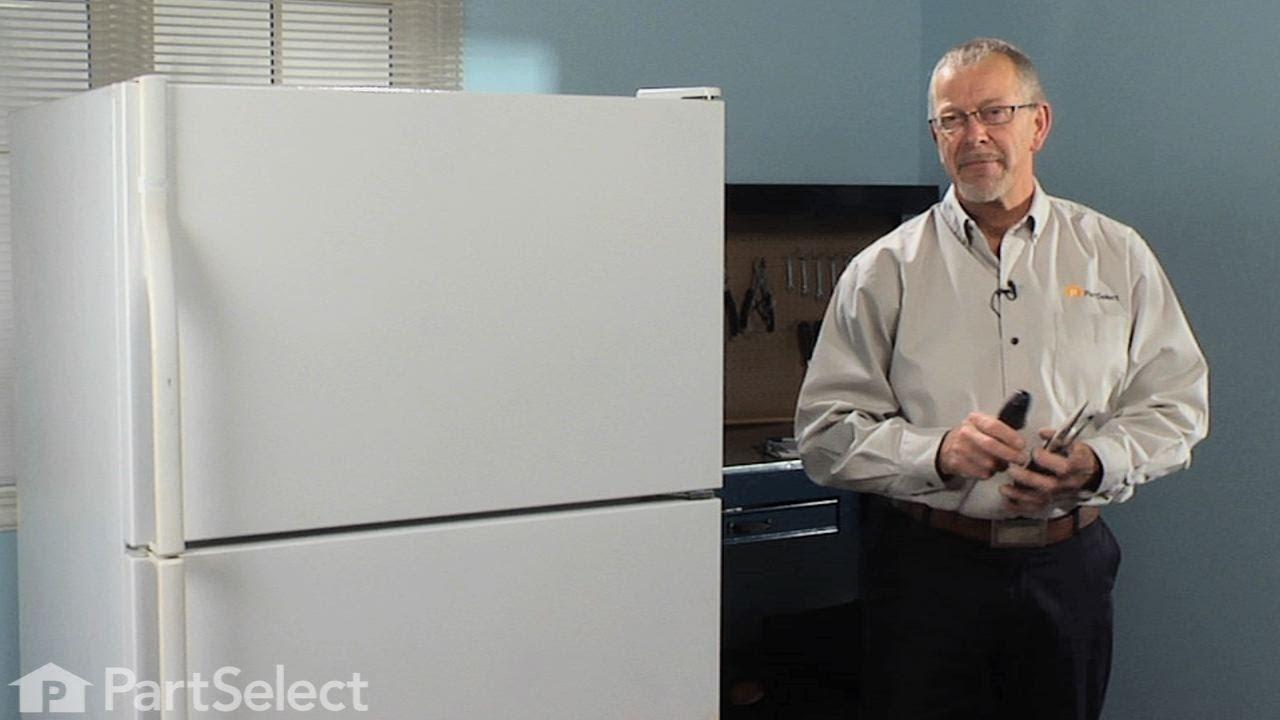 Refrigerator Repair Replacing The Icemaker Whirlpool
