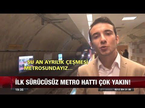 İlk sürücüsüz metro - 9 Kasım 2017