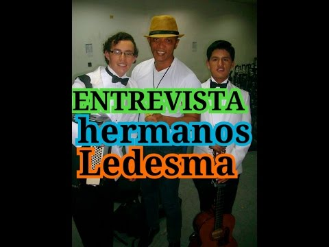 HERMANOS LEDESMA GANADORES DE ECUADOR TIENE TALENTO 3 ENTREVISTADOS POR FARANDULERO LUIS