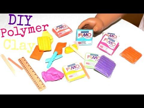DIY American Girl Polymer Clay Craft