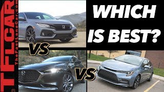 I Drove The Corolla, Mazda3 and Civic To See Which Car Is Better - And The Winner Is Clear!