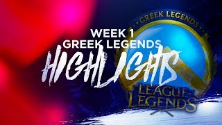 Greek Legends - Highlights Week 1
