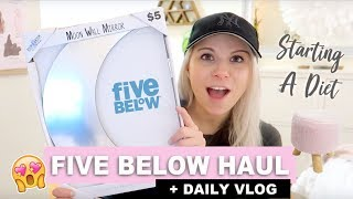 ☆ NEW DIET + FIVE BELOW HAUL! (You won't believe what I bought!) ☆