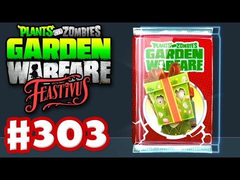 Plants vs. Zombies: Garden Warfare - Gameplay Walkthrough Part 303 - Special Holiday Gift Pack! (PC)
