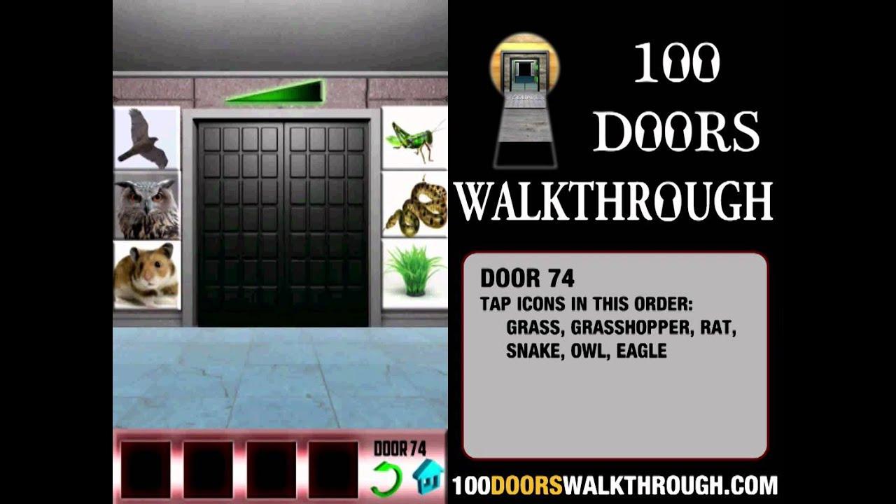 100 Doors 74 100 Doors Level 74 Android Walkthrough