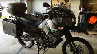 Kawasaki KLR 650 Mods for touring