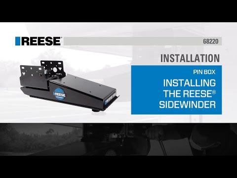 Installation: How to Install the REESE® Sidewinder™ Fifth Wheel Pin Box