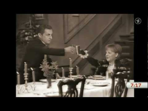 'dinner For One' Feat. Sarkozy Und Merkel video