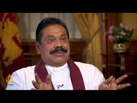 President Mahinda  Rajapaksa Interviewed By Aljazeera - Sep 2013 video