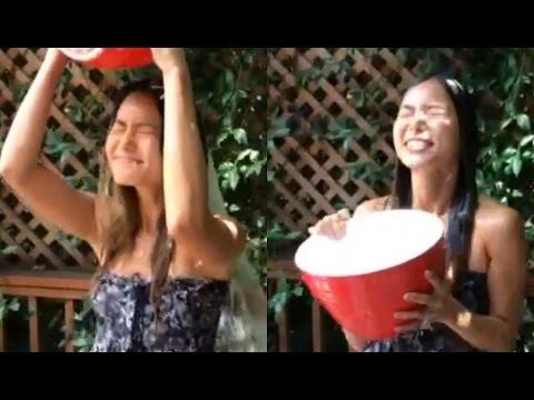 Jamie Chung - Ice Bucket Challenge