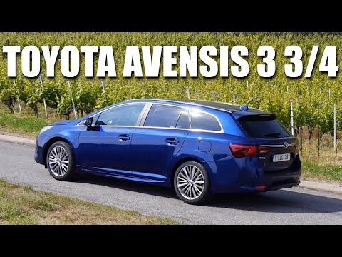 Toyota Avensis FL 2015 (ENG) - First Test Drive and Review