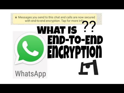 What Is Whatsapp Messenger's end-to-end Encryption Feature | New Feature 2016