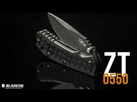 Zero Tolerance 0550 Black Wash