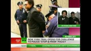 Protesters continue legal battle for stop and frisk policy  9/2/13