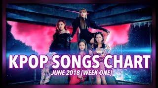 K-POP SONGS CHART | JULY 2018 (WEEK 1)