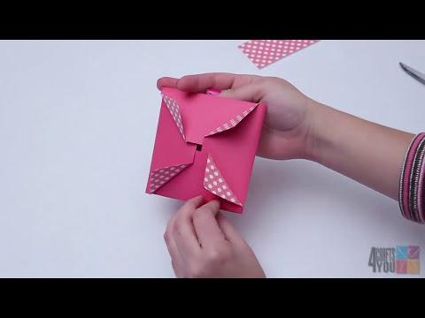 Tarjeta y sobre 2 en 1 [Detalle fácil y rápido San Valentín 14 de febrero]