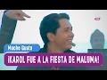 ¡Karol fue a la fiesta de Maluma! - Mucho Gusto 2016