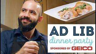 Ad Lib Dinner Party with Andrew Rea of Binging with Babish