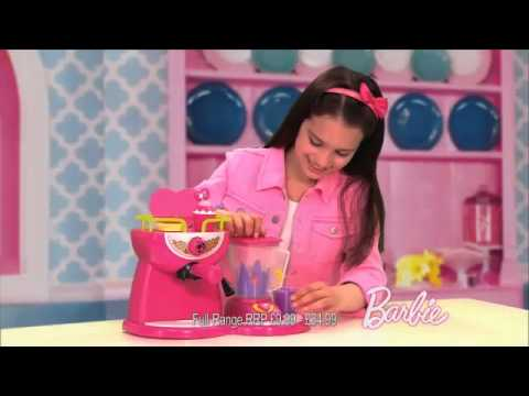 Smyths Toys Barbie Coffee And Smoothie Maker Youtube