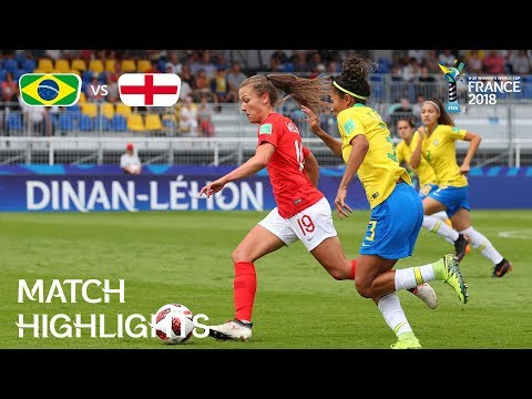 Brazil v. England - FIFA U-20 Women's World Cup France 2018 - Match 12