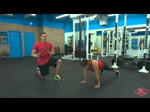 Core Exercise - Ultimate Shoulder Knee Touch - OL Healthy Living Quick Tip