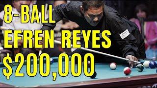 Reyes vs Mike Sigel $200,000 8-ball