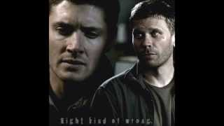 dean and lucifer wipe your eyes